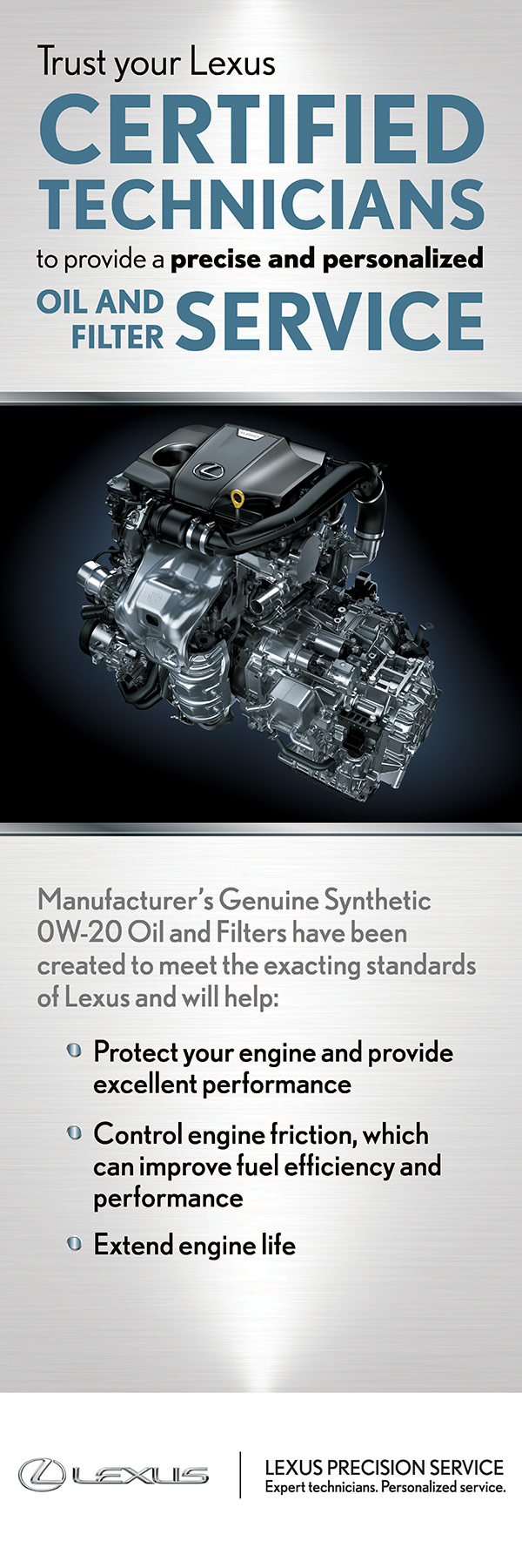 lexus of barrie service specials certified technicians oil service information