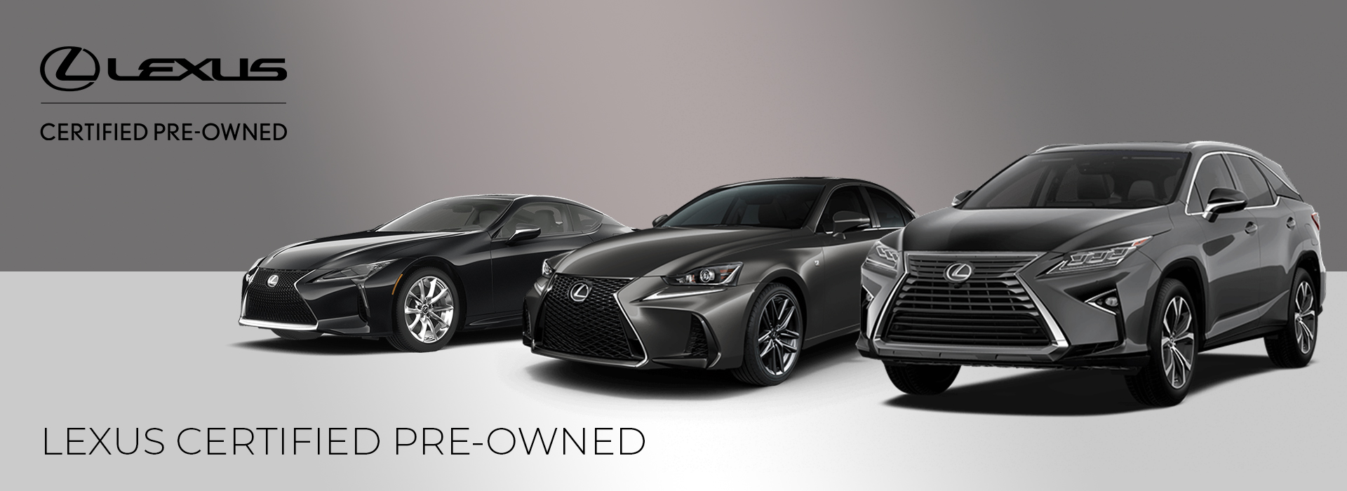 lexus certified pre-owned vehicle images and models