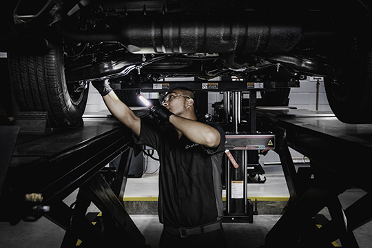 lexus of barrie certified pre-owned vehicle images and models staff taking care of lexus vehicle